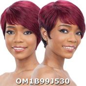 Saga Remy Human Hair Wig - MULBERRY