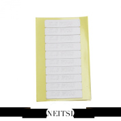 Neitsi® 60 Pieces 4.0cm X 0.9cm Double Sided Tape for Skin Weft and Tape Hair Extension Waterproof