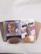 Blonde Wig Caps & Mesh Caps Kit. 6pcs Blonde Wig Cap & 3 Blonde Mesh Caps for Wigs.