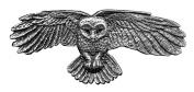Hair Clip | Barrette | Owl