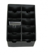 19cm x 13cm Blade Rack - Black