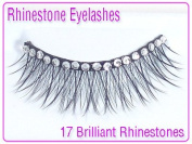 Grl Cosmetics Rhinestone Party Eyelashes #01