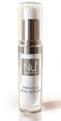 Miracle Eye Serum with Anti Wrinkle Formula - Contains Retinol, Hyaluronic Acid, Caffeine, Glycine Protein - Target Eye Ageing Signs like Dark Circles, Fine Lines, Puffiness & Restores Natural Skin Elasticity - Pump Dispenser!