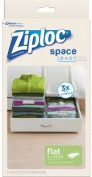 Ziploc 70422 Flat Space Bag - Large 3 Count