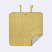 Ferm Living KIDS 8119 Wave Changing Blanket - Curry - 80 x 80 cm.