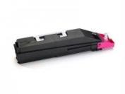 Kyocera-strategic Kyocera Tk-857m Magenta Toner Cartridge And 1 Waste Container For Use In Taskalf - TK857M