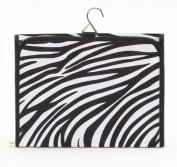 Joann Marie Designs HCBZEP Hanging Cosmetic Bag - Zebra / Fuchsia Pack of 2
