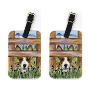 Carolines Treasures SS8254BT Pair of 2 Corgi Luggage Tags