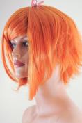 Epic Cosplay Aphrodite Autumn Orange Layered Short Anime Wig 38cm