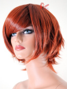 Epic Cosplay Aphrodite Copper Red Layered Short Anime Wig 38cm
