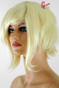 Epic Cosplay Aphrodite Natural Blonde Layered Short Anime Wig 38cm