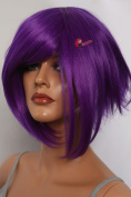 Epic Cosplay Aphrodite Lux Purple Layered Short Anime Wig 38cm