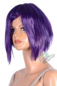 Epic Cosplay Aphrodite Royal Purple Layered Short Cosplay Wig 38cm