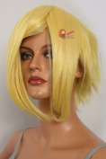 Epic Cosplay Aphrodite Rich Butterscotch Blonde Layered Short Cosplay Wig 38cm