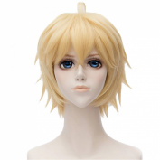 Anogol Hair Cap+ Seraph of the End Mikaela Hyakuya Cosplay Wig DM-462