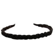 Chic Women Beads Rhinestone Head Chain Fashion Headband Head Piece Hair Band Girl