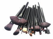 KanCai® 24pcs Professional Cosmetic Makeup Brush Set with Case