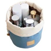 Audrey's Travel Cosmetic Bag Nylon High Capacity Drawstring Bag Makeup Organiser Storage