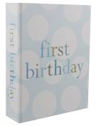 "Blue and White Baby Boy ""First Birthday"" Photo Album by Haysom Interiors"