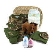 Sunshine Gift Baskets - Camo Newborn Gift Set