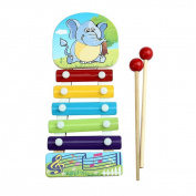 Yoyorule Baby Kid Musical Toys Xylophone Wisdom Development Wooden Instrument