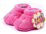 Tasny Baby Shoes Warm Girl Boy Cotton Newborn Socks Pink