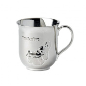 Silver Baby Cup By Peter Rabbit