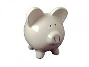 TukTek Small Ceramic My Baby's First Piggy Bank