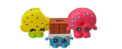 Shopkins Moulded Shape Coin Bank x 3