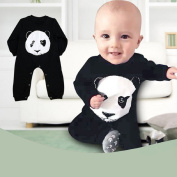 Shensee Carters Baby Boy Rompers Panda Long Sleeve Baby Climbing Clothes