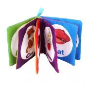Susenstone® Soft Cloth Baby Intelligence Development Learn Picture Cognize Book