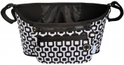 AwesomeWare Stroller Organiser -­- Universal -­- Modern and Chic Black and White Pattern