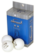 Killerspin 2-Star 6-Pack Table Tennis Balls