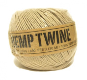 Hemp Twine Natural 20# 1mm 430ft 130m