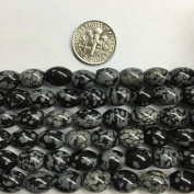 Oval Barrel 8x10mm Gemstone Beads, 15.5 Inch Jewellery Making Beads