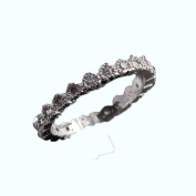 free size silver plating copper metal rings wholesale & Retail 14cm