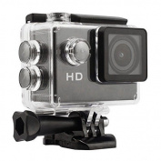 Black 12MP Full HD 1080P Bicycle Motorcycle Ski Helmet Sports DV Action Waterproof Car Video Camera SJ4000