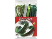 Pepperell Vinyl Lace Jewellery Kit Bracelet Emerald