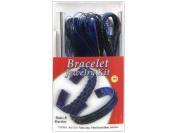 Pepperell Vinyl Lace Jewellery Kit Bracelet Sapphire