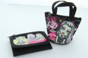 Monster High Wallet Tri-fold with matching Coin Purse gift for girls-Colour