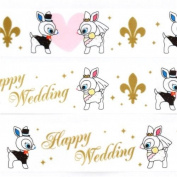 cute white Puchi Babie deer wedding deco tape