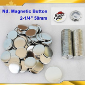 "Nd. Magnetic 2-1/4"" 58mm Magnet 100sets Parts Supplies for Pro Maker Machine"