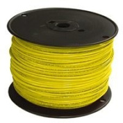 Southwire Company 12YEL-SOLX500 THHN Solid Single Wire, Yellow