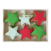 MERI MERI POP Red and Green Stars Hanging Gift Boxes