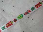 Gift Wrapping Ribbon Spool - 2.7m Long X 1.3cm Wide