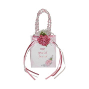 "Miniature Music Box Mini Gift Bag - Pink Special Friend ""That's What Friends Are For"""
