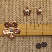 Puffin & Company Knitting Swatch Gauge Counting Set - Flower
