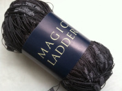 Filati Europa Magic Ladder #59 - Dark Grey Ladder Ribbon Yarn 50gr