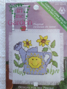 Watering Can Counted Cross Stitch Kit