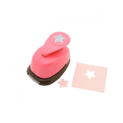 1.6cm inch Star Shape Lever Action Craft Punch for Paper Crafting Scrapbooking Cards Arts